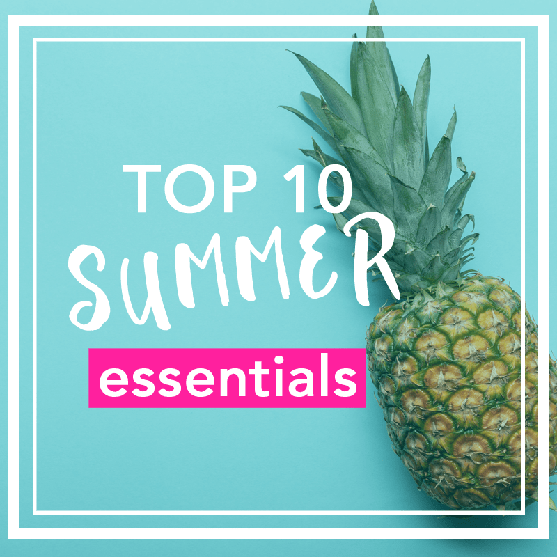 top summer essentials 2019