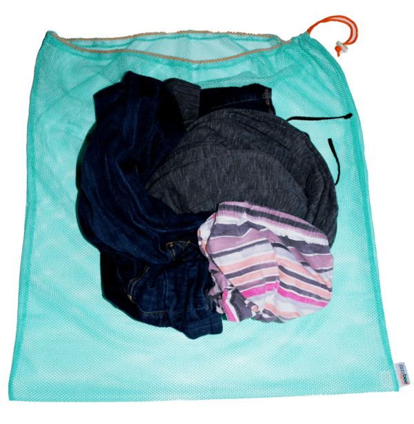 mesh dirty laundry bag for travel
