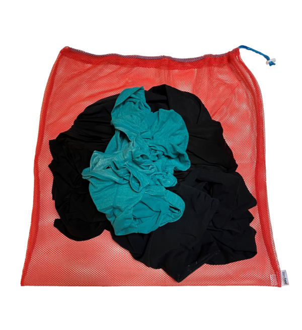 red-laundry-bag-with-clothes